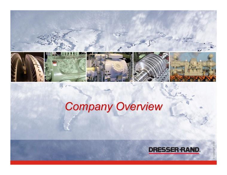 Dresser Rand Group Inc Form 8 K Ex 99 1