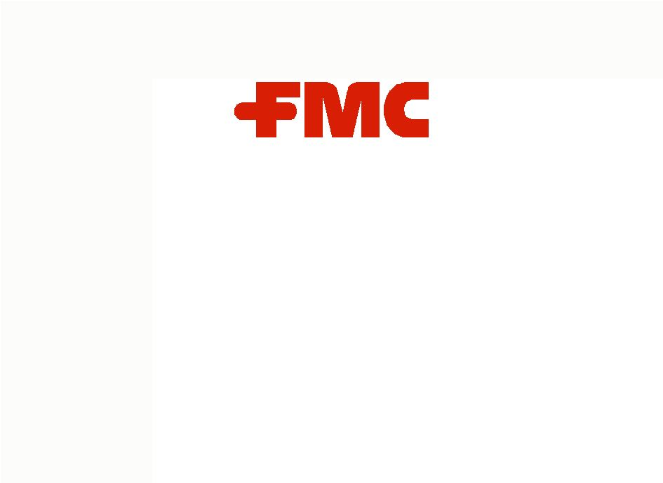 fmc corp Fmc chemistries help grow the world's food, improve health, enhance foods and beverages, contribute to sustainable energy and the creation of other essential products.