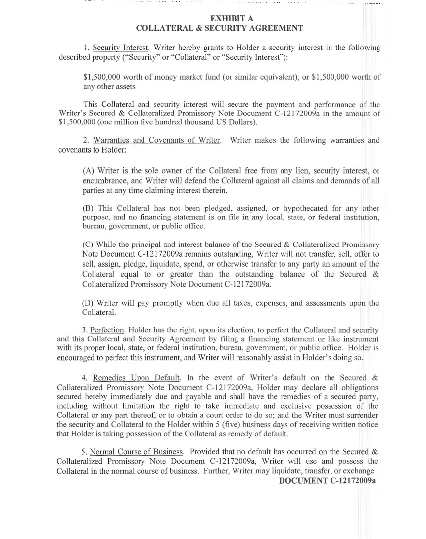 Free Secured Promissory Note Template Word Romeolandinezco - Promissory note template with collateral
