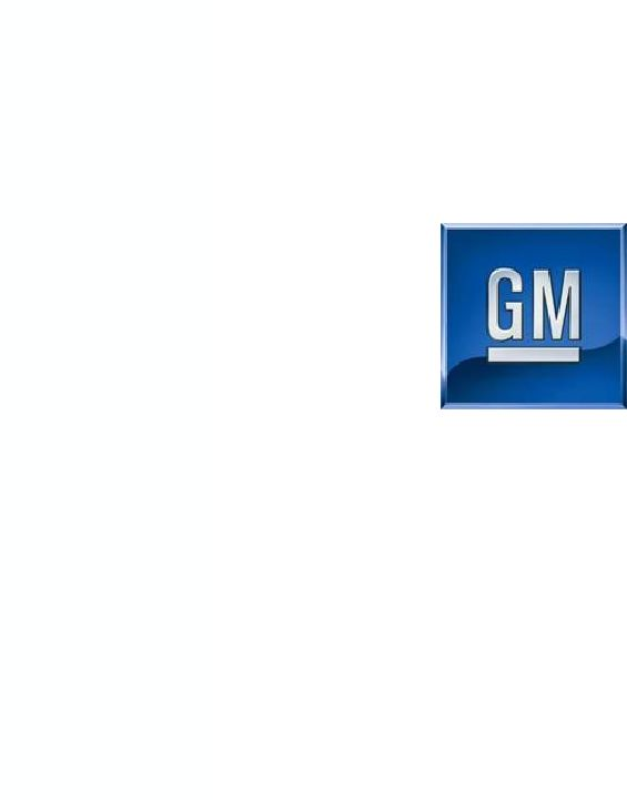 general motors co form 8 k ex 99 2 charts furnished