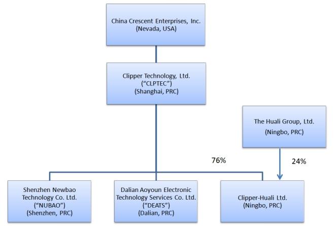 China Crescent Enterprises Inc Form 10 K April 15 2010