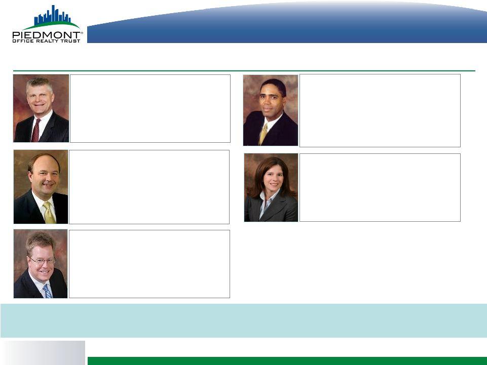 Piedmont Office Realty Trust Inc Form 8 K Ex 99 1