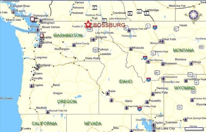 North West Usa Map My blog