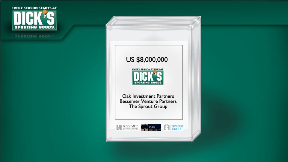 DICKS SPORTING GOODS INC - FORM 8-K - EX-99.1 - INVESTOR ...
