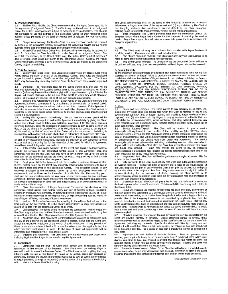 China Tianfeihong Wine Inc Form S 1a Ex 107 Lease Agreement