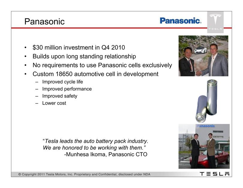 Tesla Inc Form 8 K Ex 99 1 Investor Presentation