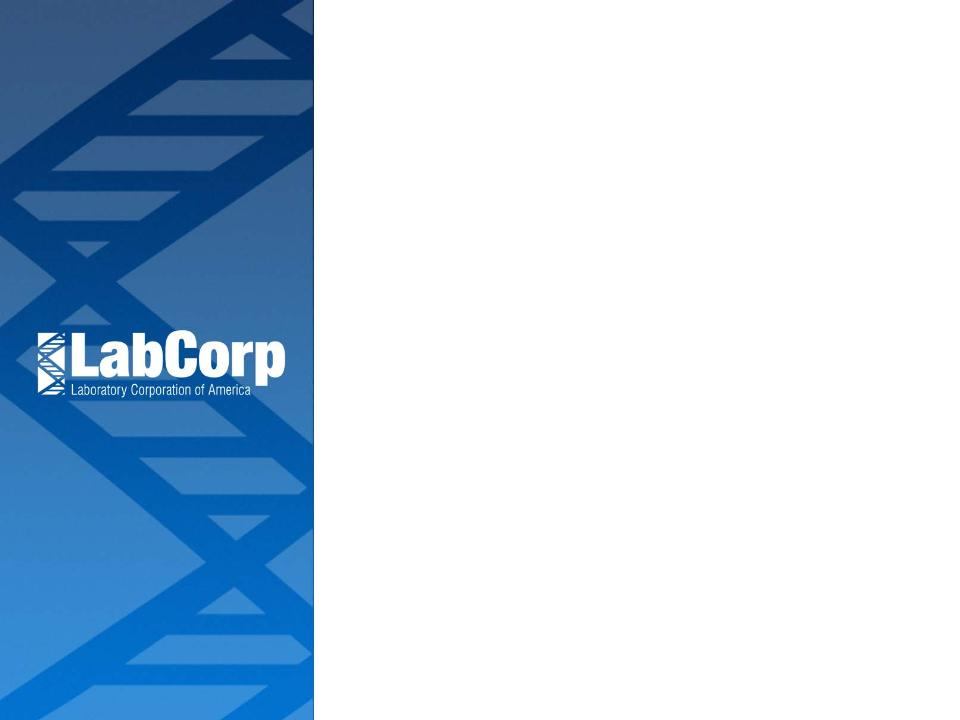LABORATORY CORP OF AMERICA HOLDINGS - FORM 8-K - February 23, 2011