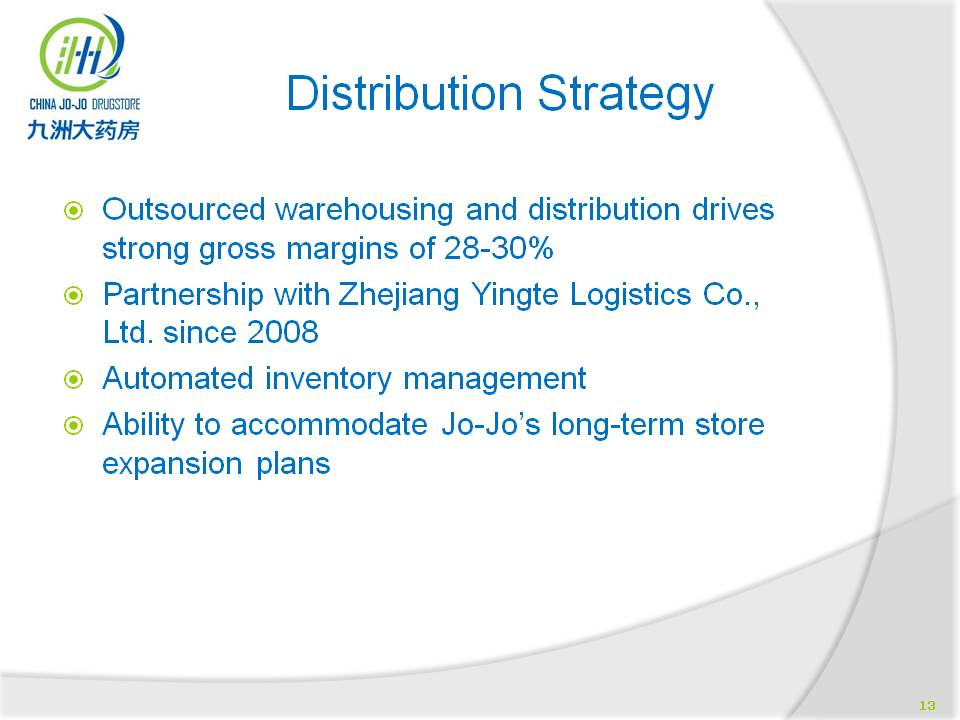 the chinese distribution strategy for e Daxue consulting has the expertise when it comes to finding distributors in china from processing them to recent figures show that most small foreign businesses in china use a chinese distribution company in order to expand and even develop different market and pricing strategies.
