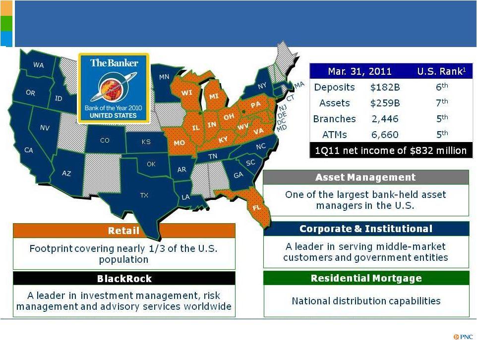 Pnc Financial Services Group Inc Form 8 K Ex 99 1