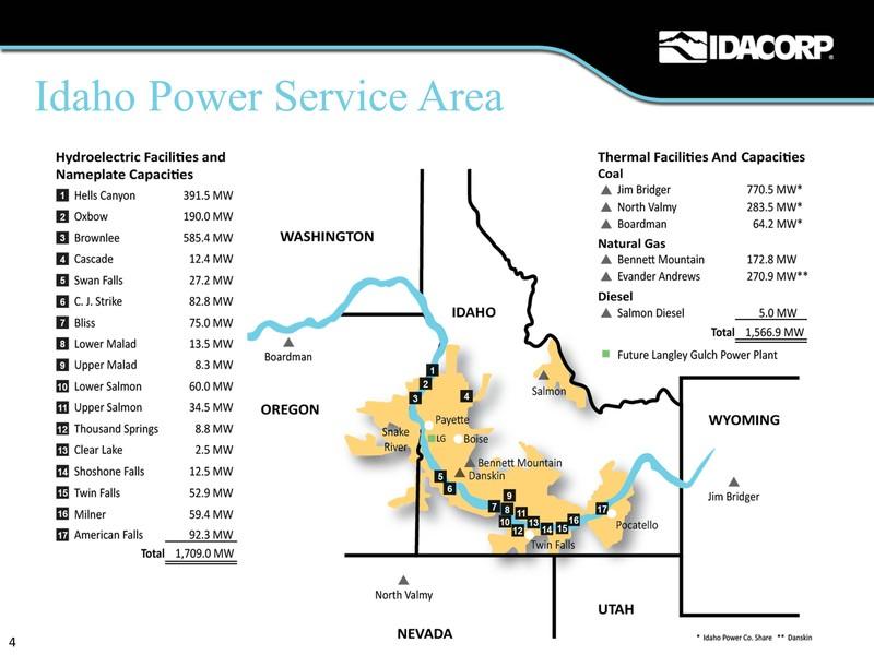 Idaho Power Co Form 8 K Ex 99 1 Exhibit 99 1 May