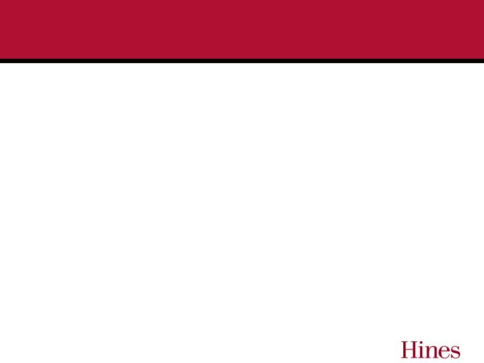 Hines Real Estate Investment Trust Inc Form 8 K Ex 99