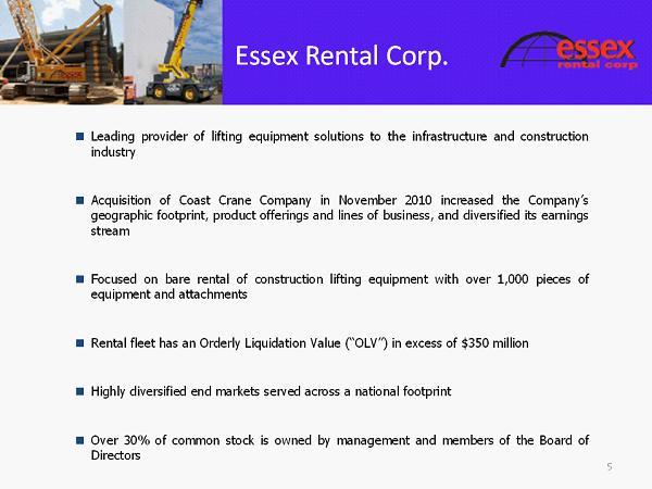 Essex Group Management Corp 104