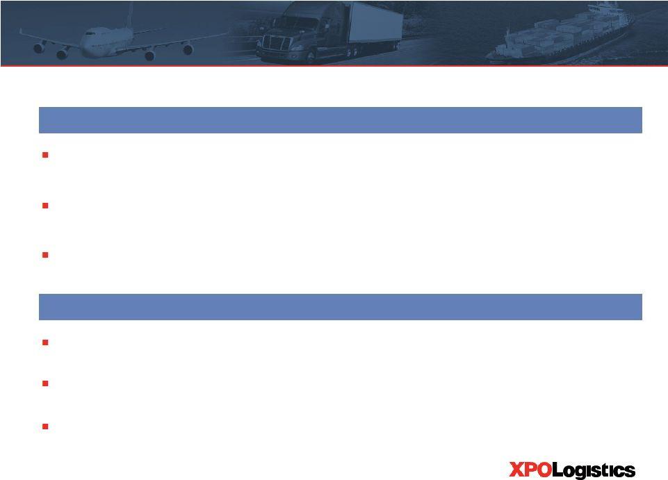 Xpo Logistics Inc Form 8 K Ex 99 2 Exhibit 99 2