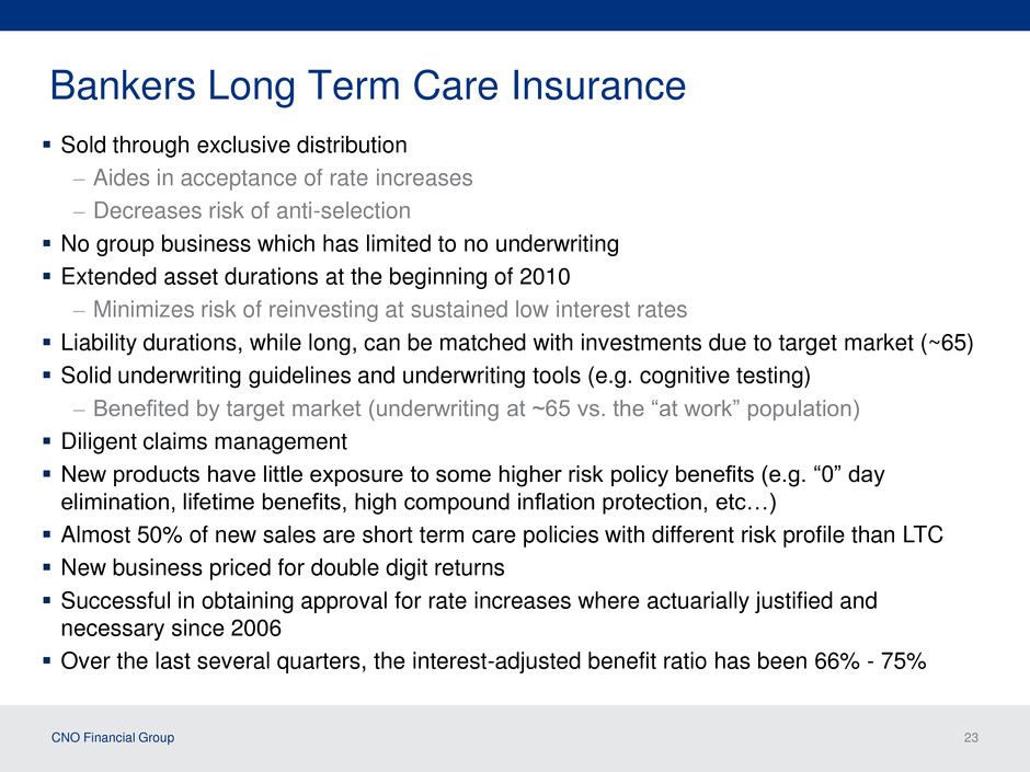 Bankers Long Term Care Insurance