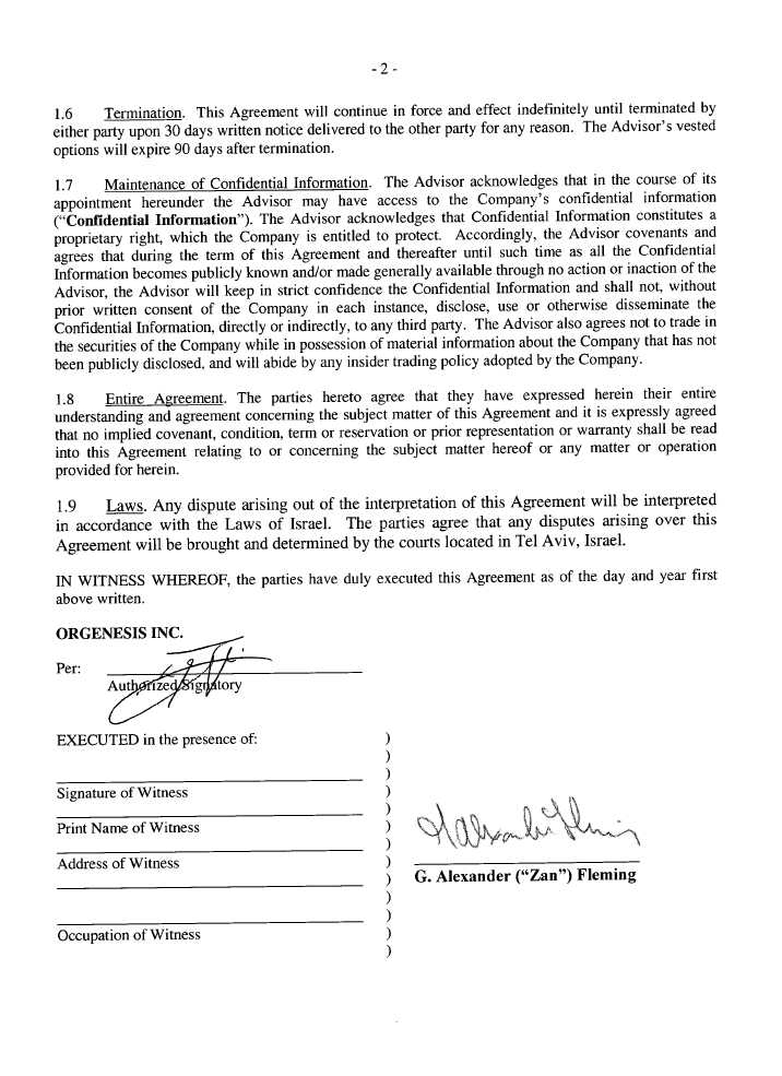 Consulting Agreement Examples Agreement Consulting