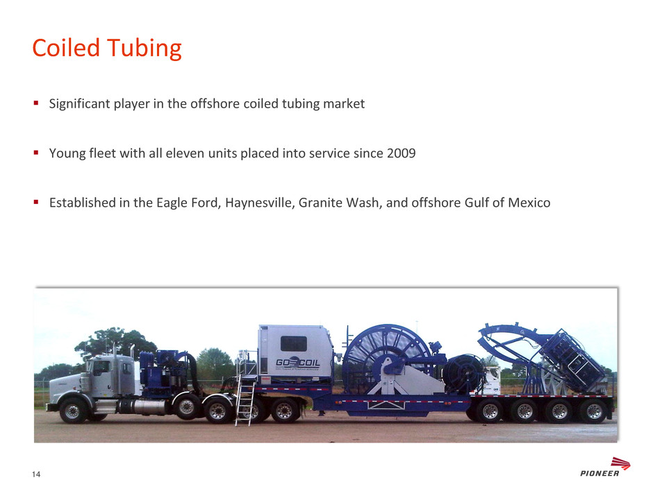 Coiled Tubing Services Texas : Pioneer energy services corp form k ex slides