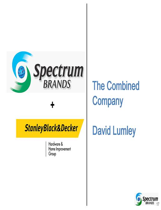 spectrum brands inc the sales force dilemma View this essay on spectrum brands should it merge its sales challenge for spectrum this is the central dilemma of spectrum brands, inc: the sales force.
