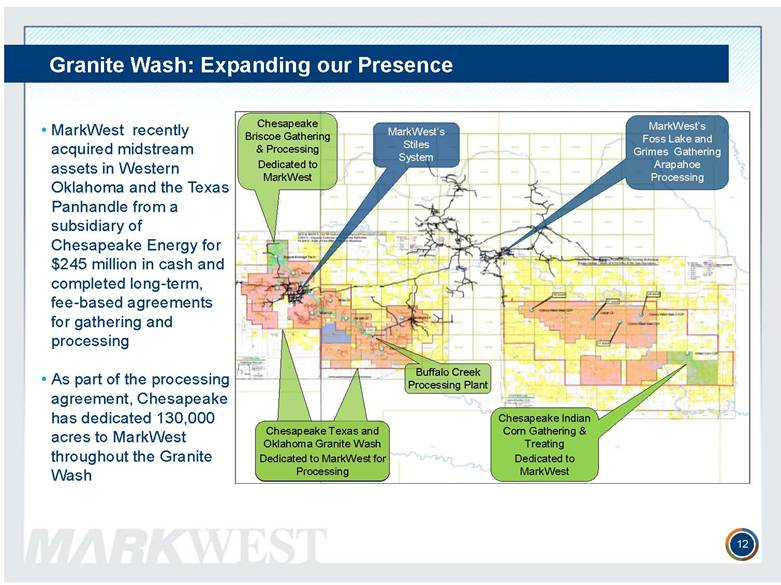 Markwest Energy Partners L P Form 8 K Ex 99 1 May 22