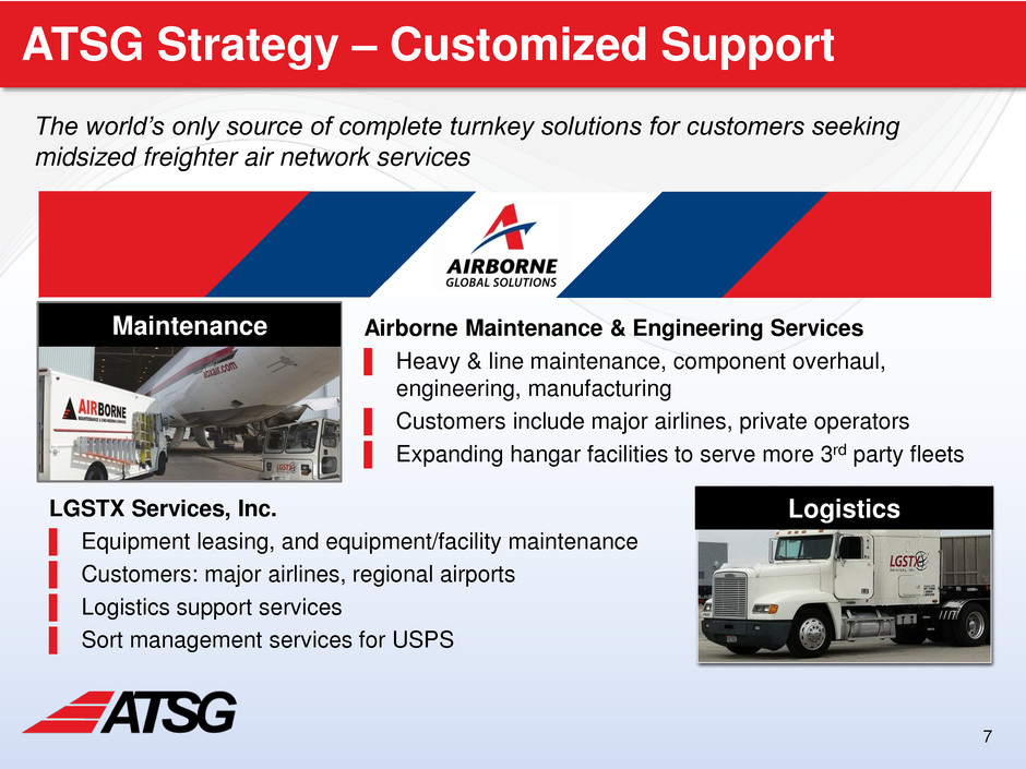 Air Transport Services Group, Inc  - FORM 8-K - EX-99 1
