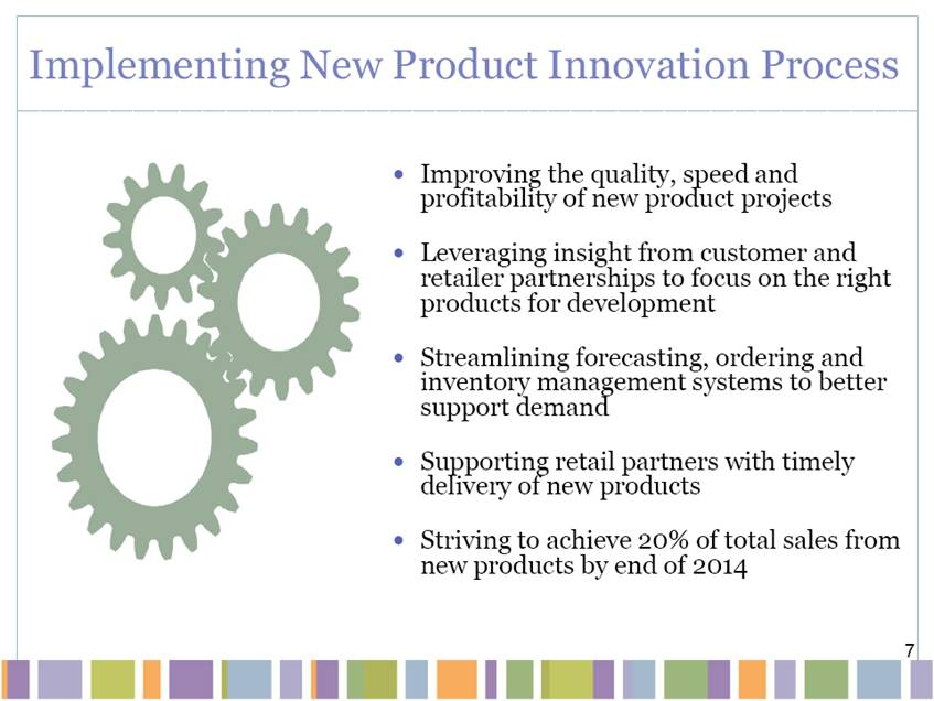 the product innovation process What is innovation process innovation in some cases, the product is a commodity or staple with a long product life cycle, for example.