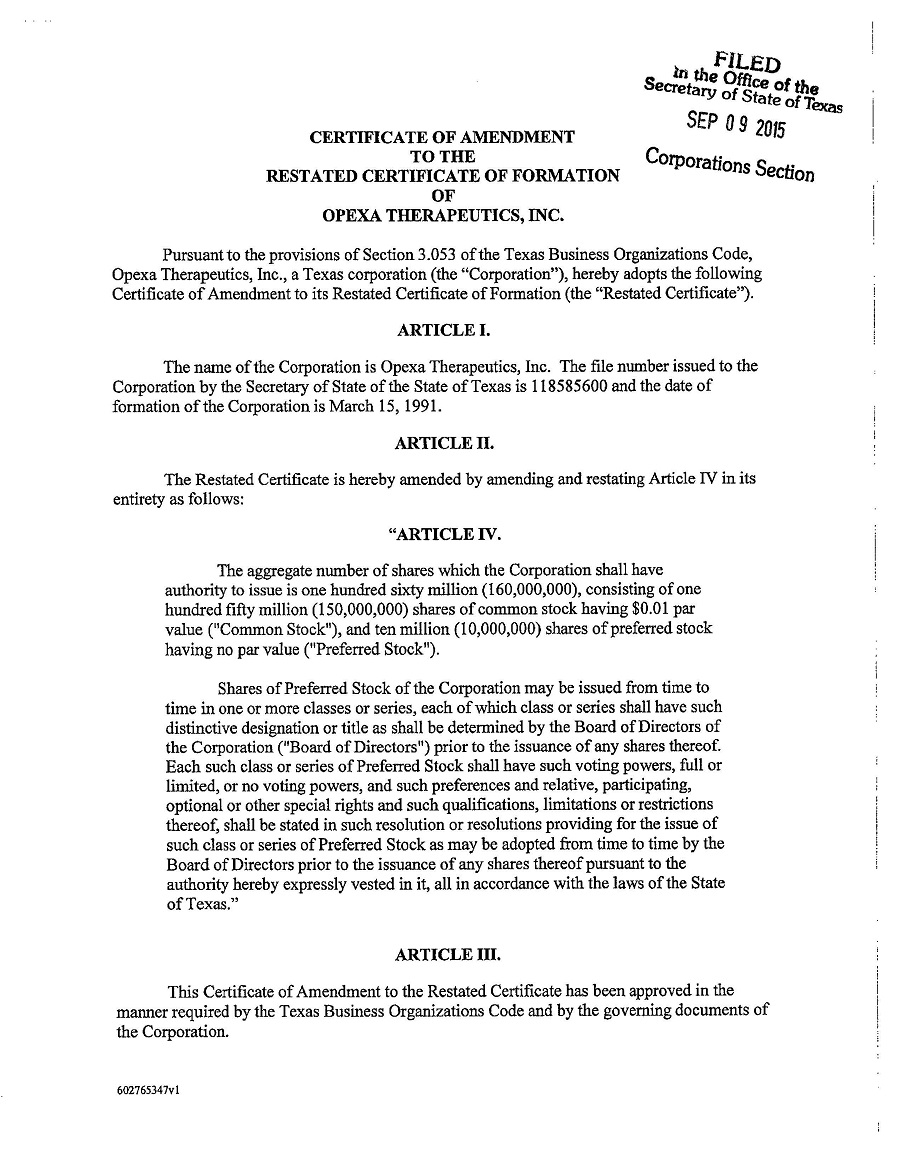 Acer Therapeutics Inc Form 10 Q Ex 32 Certificate Of