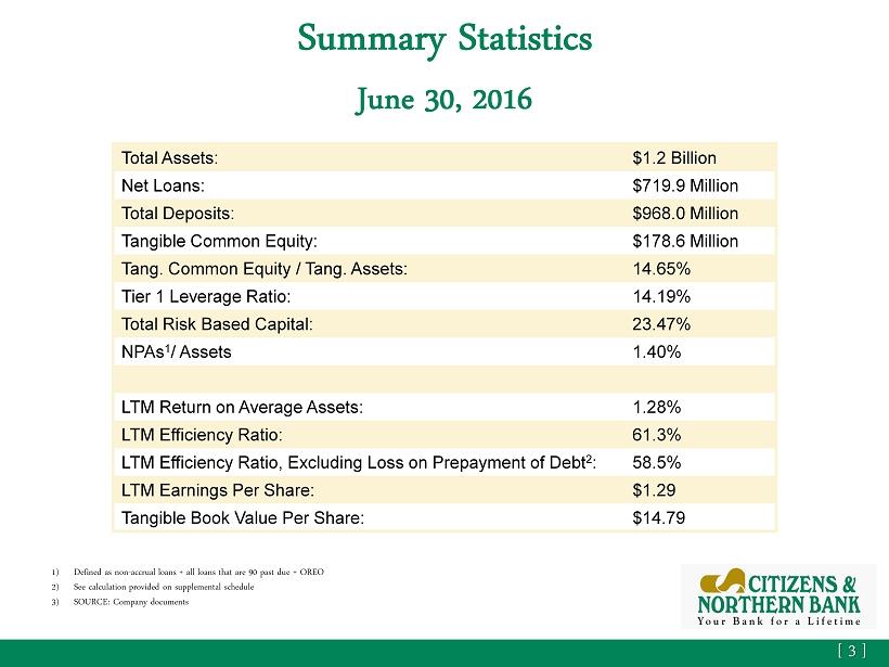 summary on statistics
